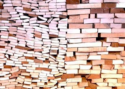 Buchenholz verleiht das Aroma