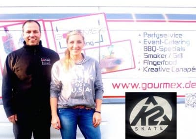 k2 catering mit Gourmex