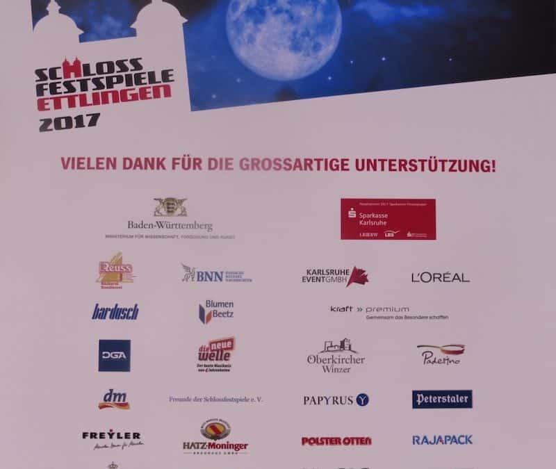 Catering Schlossfestspiele Ettlingen