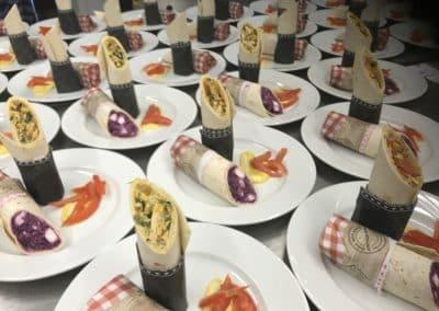 wraps hochzeit catering