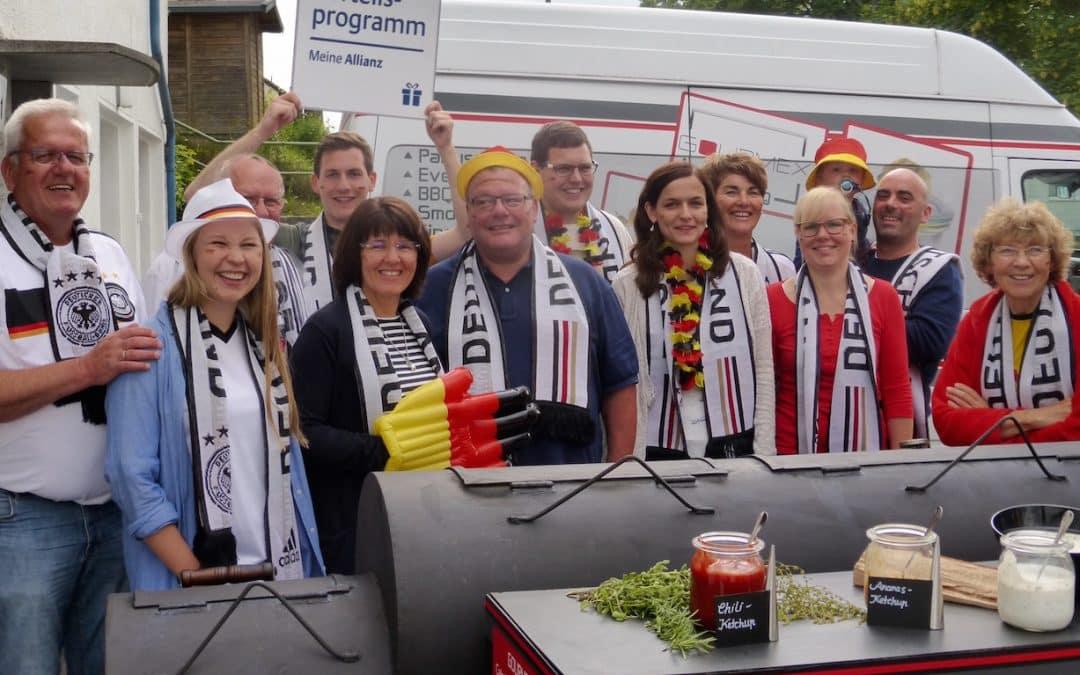 Gelungener EM-Auftakt – Allianz Gewinnspiel