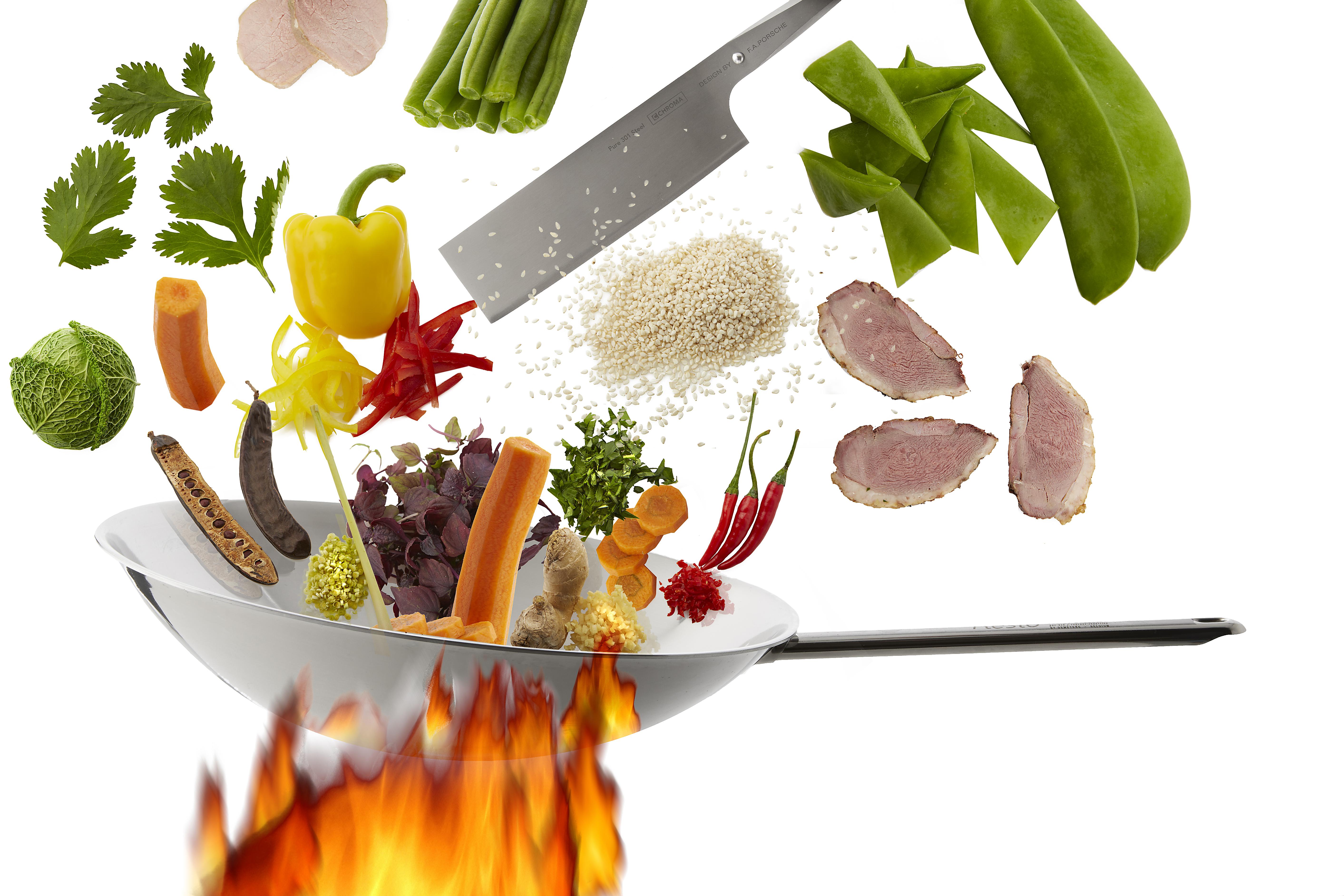 Foodfotografie - Pasta BAR und WOK im Mittelpunkt