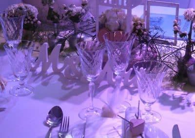 Hochzeitmesse Tisch