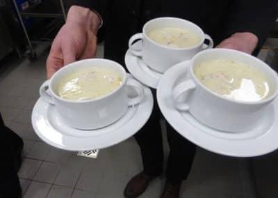 Suppe Geburtstagsfeier