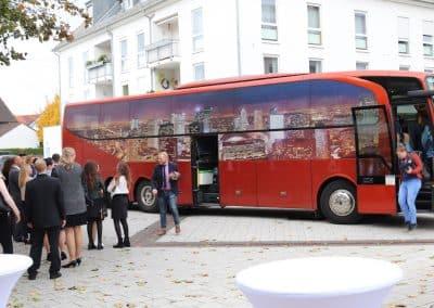 Anreise Bus