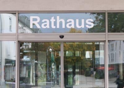Eingang rathaus Sinzheim