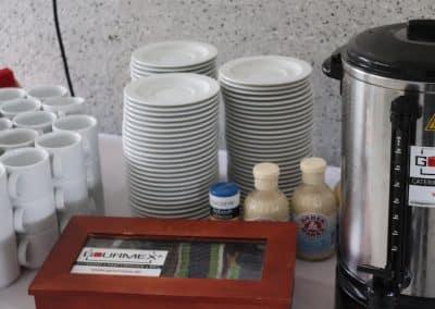 Kaffee-Buffet