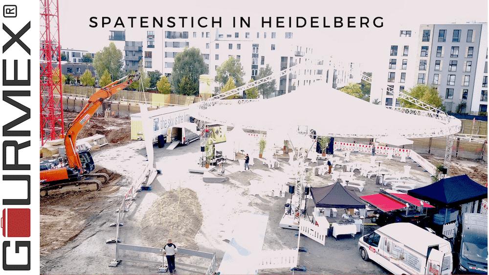 Catering Heidelberg – Spatenstich