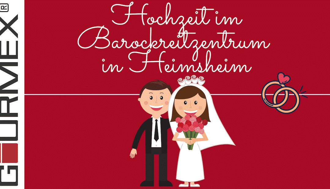 Barockreitzentrum Heimsheim – Catering zur Hochzeit in toller Eventlocation