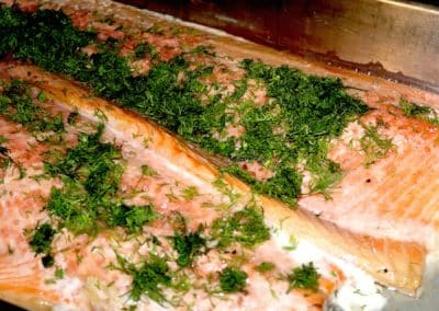 lachs-barbecue