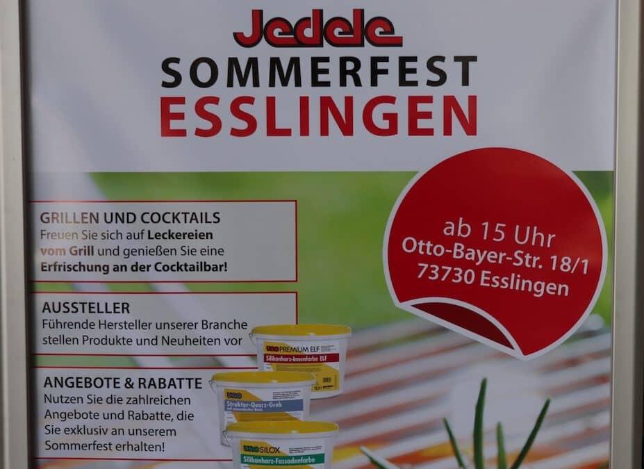 Sommerfest bei Jedele in Esslingen