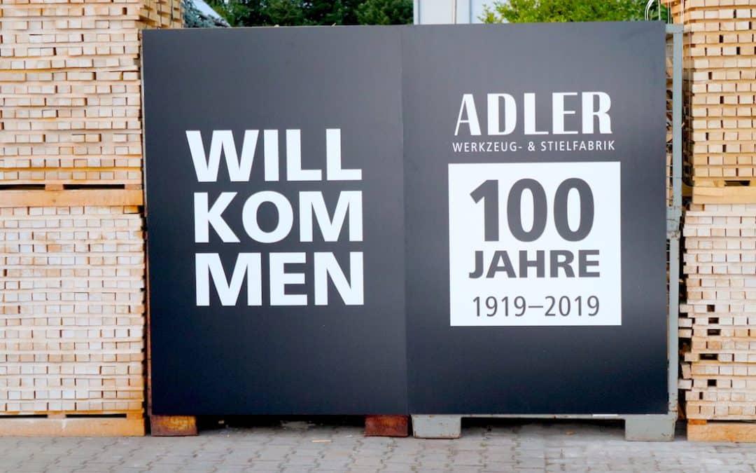 Adler feiert 100 jähriges Betriebsjubiläum